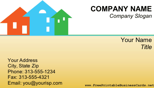 Real Estate business card. Business cards and stationery!