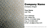 Metal Texture Metal Tread business card